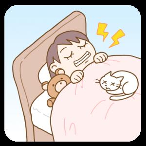 睡眠中の歯ぎしり